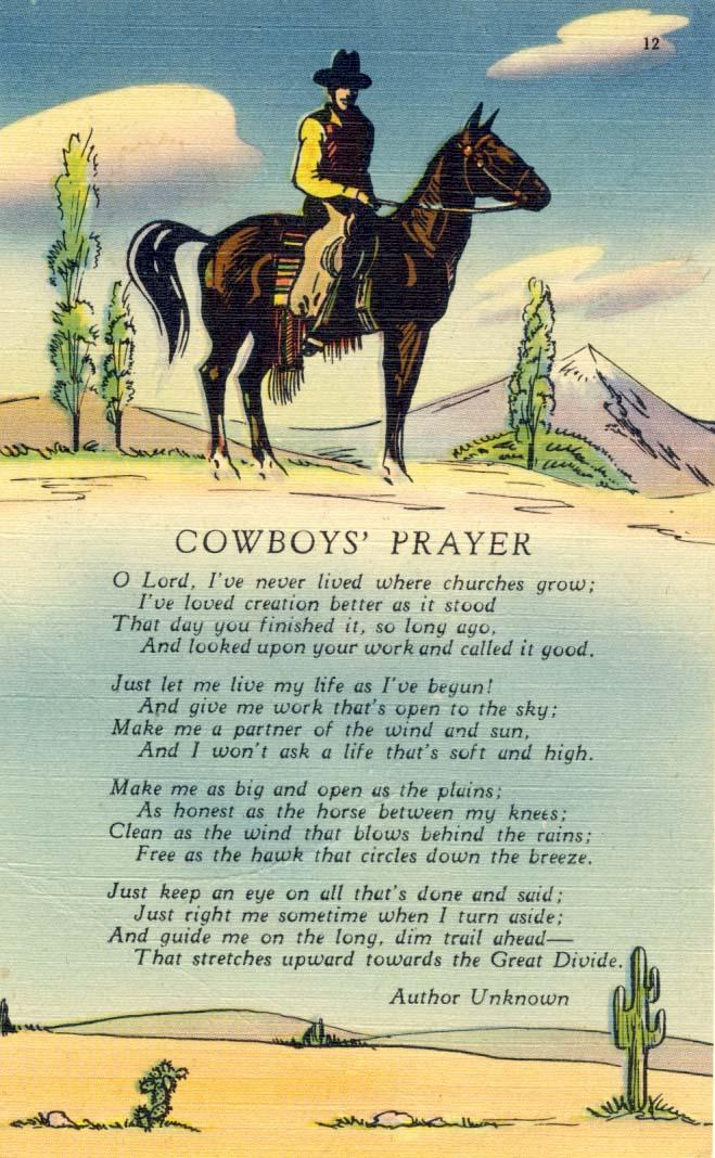A Cowboys Way: Through my Eyes of Cowboy Poetry (1)