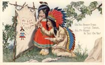 Oh, you bright eyed little Sioux. Valentine. 1914